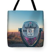 Views Await Tote Bag