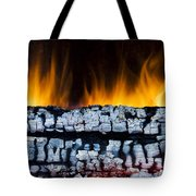 Views From The Fireplace Tote Bag