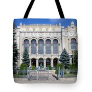 Vigado Concert Hall In Budapest Tote Bag
