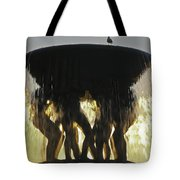 Vigelands Fountain At Sunset Tote Bag