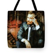 Viggo Posed In A Chair Tote Bag