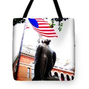 Vigilant In Sevierville Tote Bag