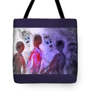 Been To The Ball And Going To The Nachspiel  Tote Bag by Hilde Widerberg