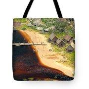 Viking Village Tote Bag