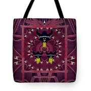 Vikings  And Leather Pop Art Tote Bag