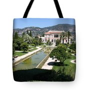 Villa Ephrussi De Rothschild And Garden Tote Bag