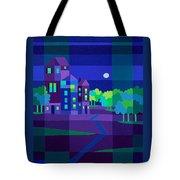 Villa Night Tote Bag