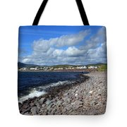 Village By The Sea - County Kerry - Ireland Tote Bag by Aidan Moran