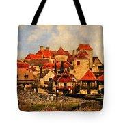 Village De Fleuris Tote Bag