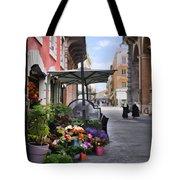 Village Flowershop Tote Bag