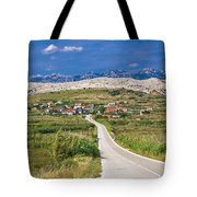 Village Gorica Island Of Pag Tote Bag