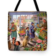Village Greengrocer  Tote Bag