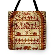 Village Holiday Tote Bag by Sergey Khreschatov