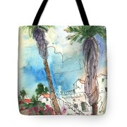 Village In Lanzarote 02 Tote Bag