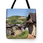 village in Madagascar Tote Bag
