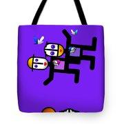 Village Life Tote Bag