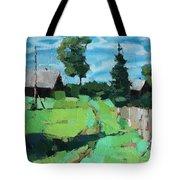 Village Meadow Tote Bag