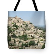 Village Of Gordes Tote Bag
