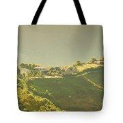 Village On Mountain Tote Bag