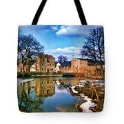 Village Reflections Tote Bag