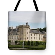 Villandry Chateau And Boxwood Garden Tote Bag
