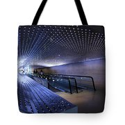 Villareal's Blue Multiuniverse Tote Bag