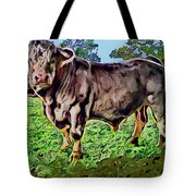 Vince The Bull Tote Bag