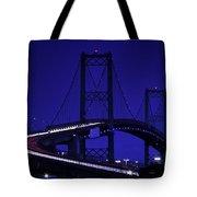 Vincent Thomas Bridge Tote Bag