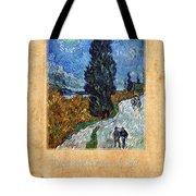 Vincent Van Gogh 4 Tote Bag