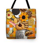 Vincent's Sunflower Cookie Jar Tote Bag