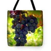 Vine Purple Grapes  Tote Bag