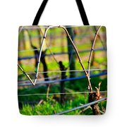Vines On Wire 22637 Tote Bag