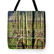 Vines Poles 22649 Tote Bag
