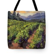 Vineyard At Dentelles Tote Bag