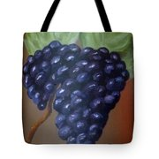 Vineyard Grapes On Terra Cotta Tote Bag