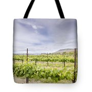 Vineyard Landscape In Maryhill Washington State Tote Bag