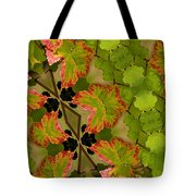 Vineyard Quilt Tote Bag