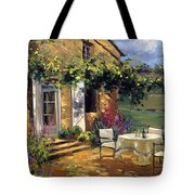 Vineyard Villa Tote Bag