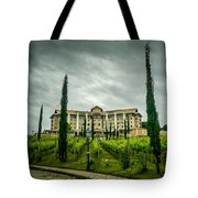 Vineyards And Chateau Tote Bag