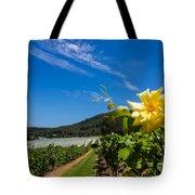 Vineyard's Companion Rose Tote Bag