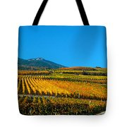 Vineyards In Autumn, Valais Canton Tote Bag