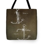 Vintage 1902 Anchor Patent Tote Bag