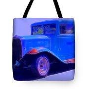 Vintage 1940's Chevrolet Tote Bag