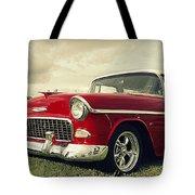 Vintage 1955 Chevy Nomad Tote Bag