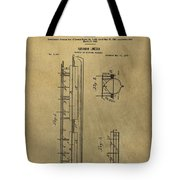 Vintage Abraham Lincoln Patent Tote Bag