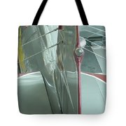 Vintage Airplane Four Tote Bag