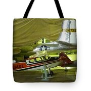 Vintage Airplanes Display Tote Bag