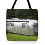 Vintage Airstream Trailer Tote Bag