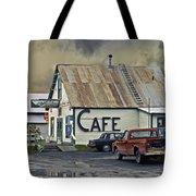 Vintage Alaska Cafe Tote Bag