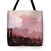 Vintage America Brooklyn 1930 Tote Bag